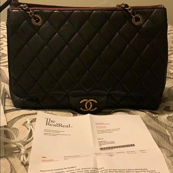 823c8d41751b CHANEL Bags | Authentic Large Blizzard Flap Bag | Poshmark